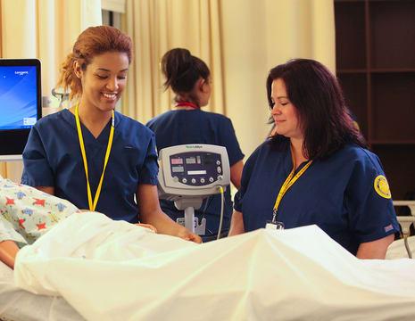 TJC nursing students