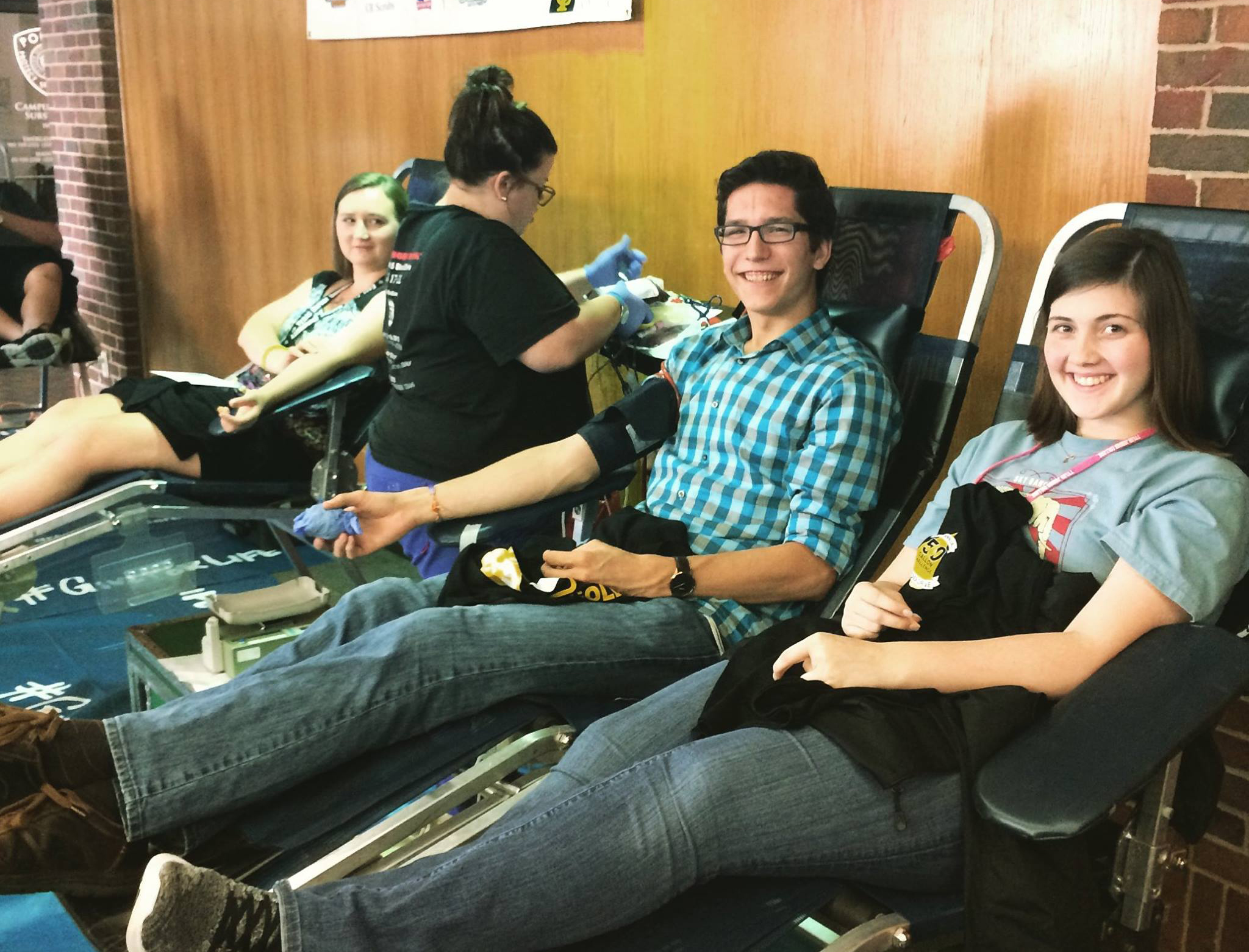 50 Gallon Challenge Blood Drive at TJC