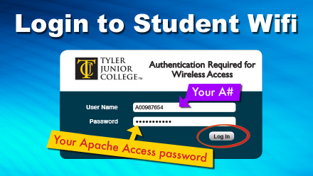 Wireless student login