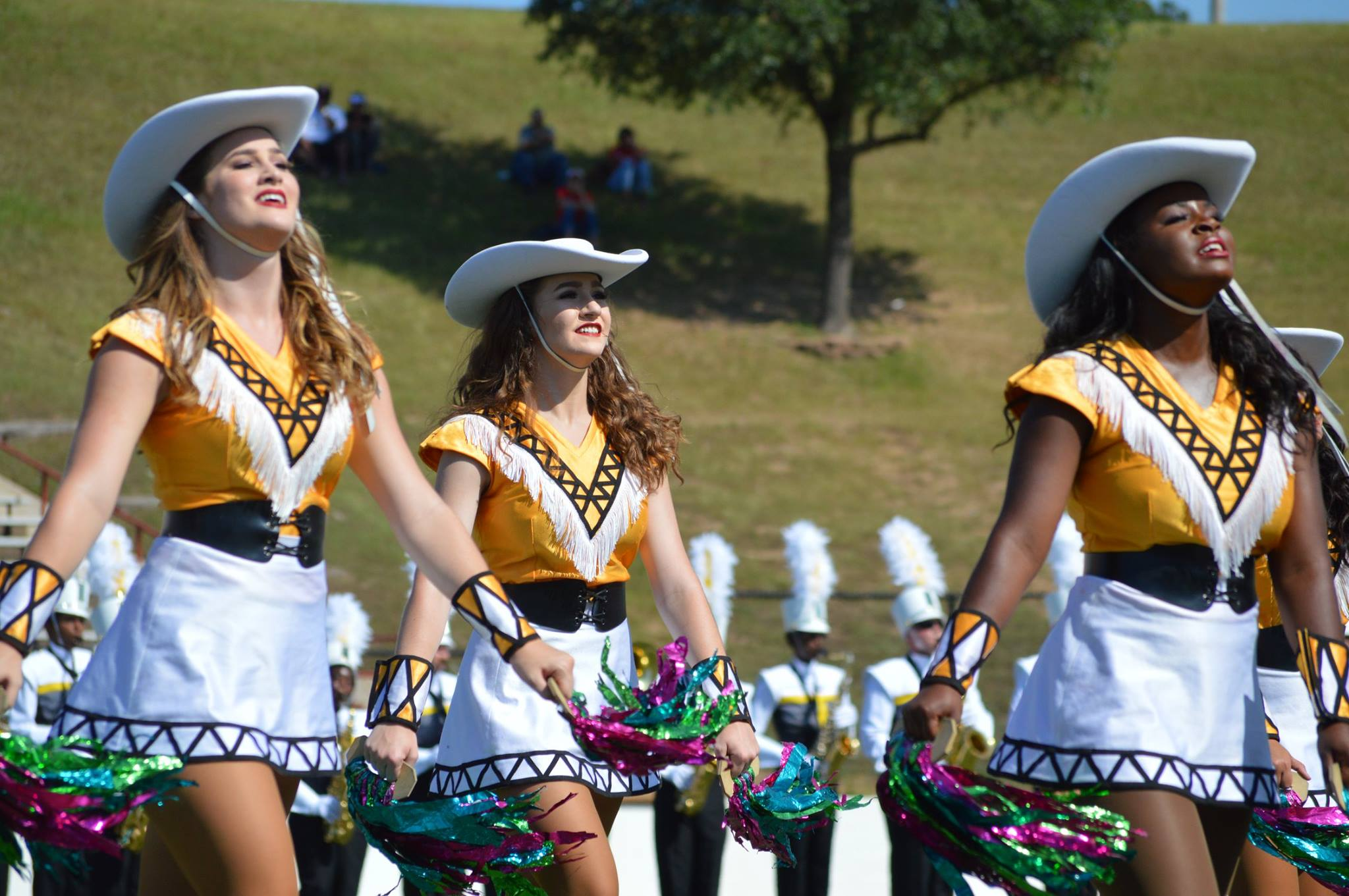Apache Band and Apache Belles