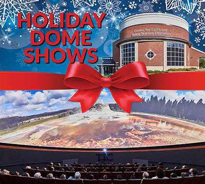 Holiday dome shows