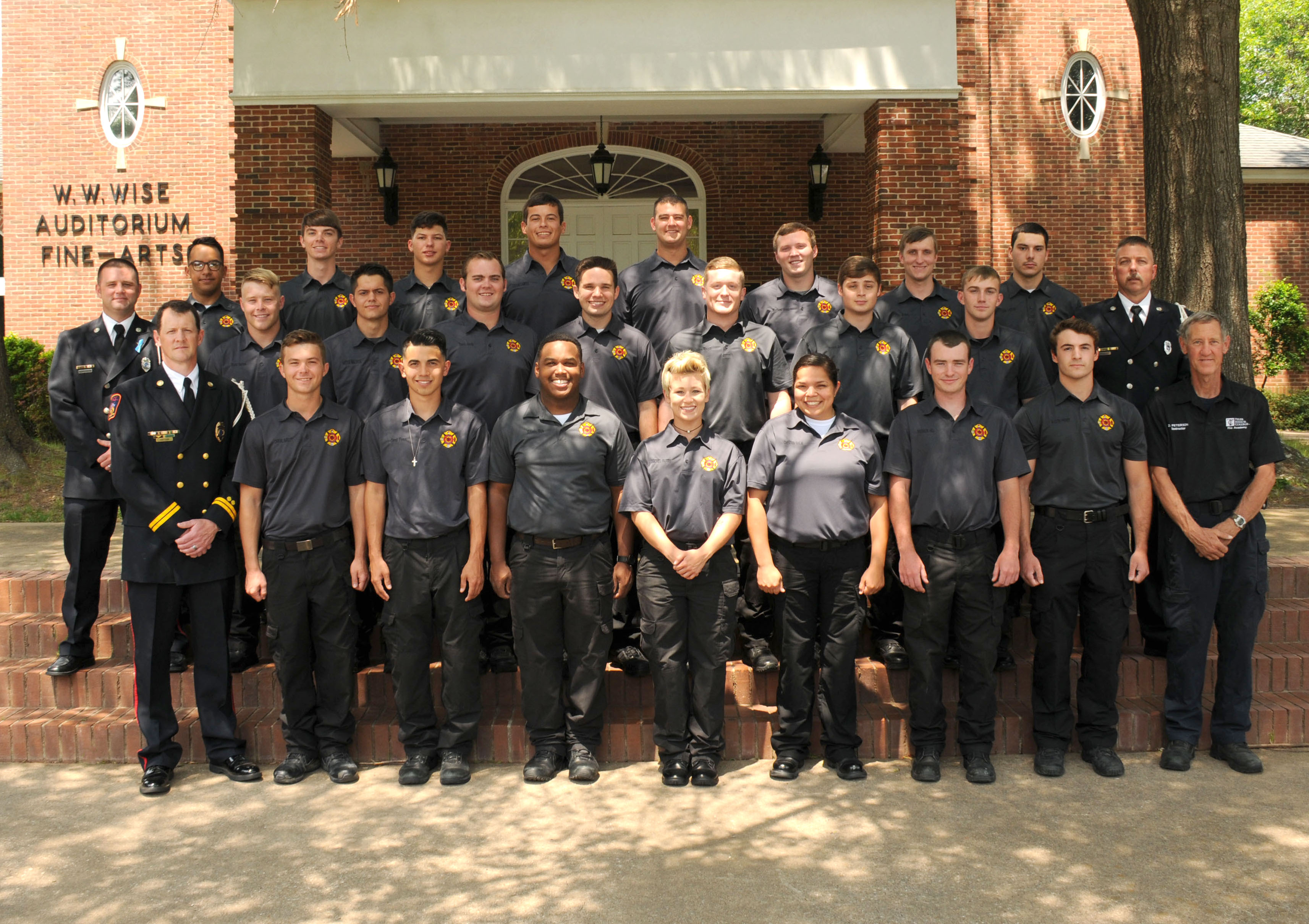 Fire academy grads May 2017