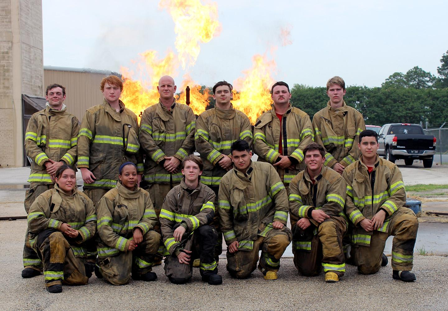 Fire Academy graduation May 2020