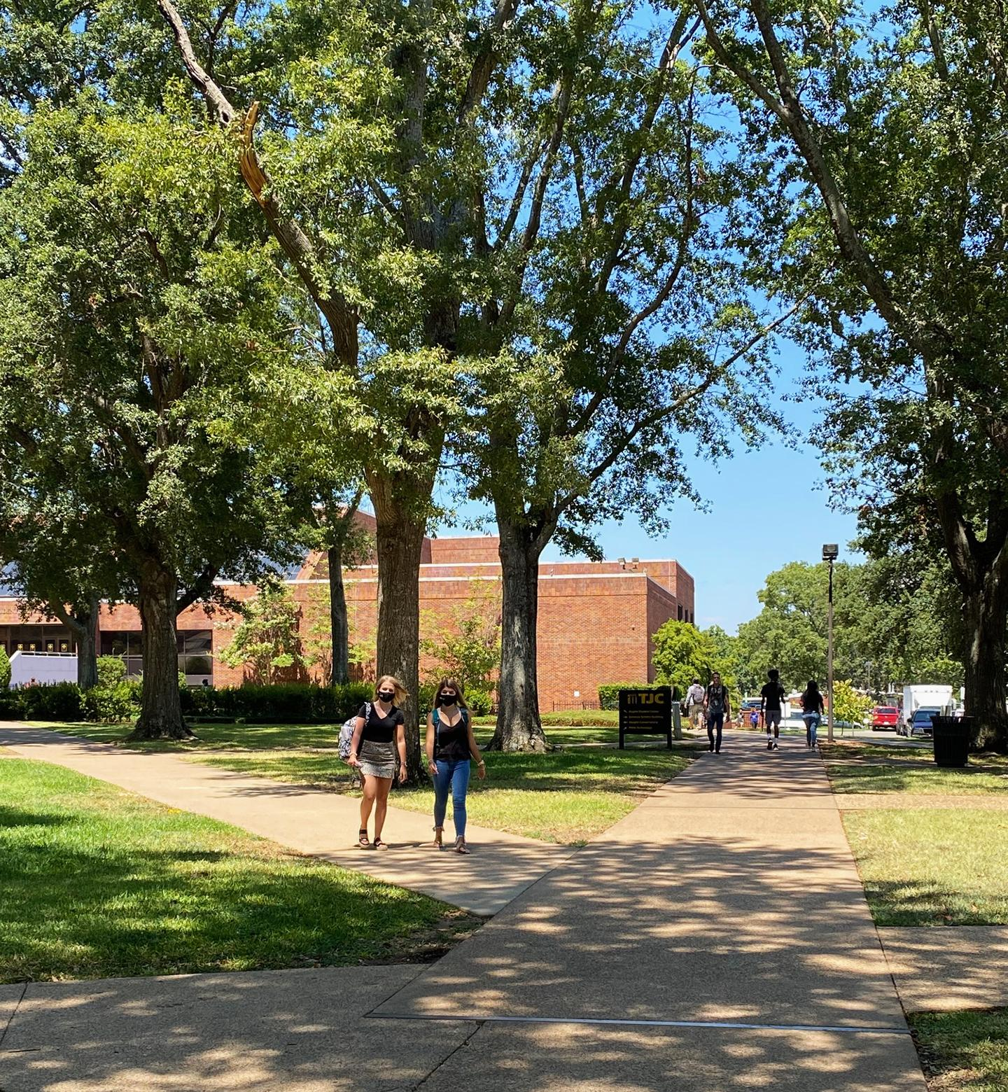 TJC Fall 2020 first day