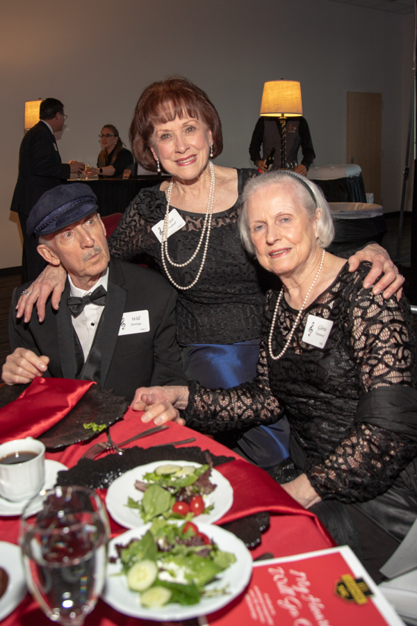 Will Jennings with his sisters Joyce Hudnall (center) and Gloria Townsend.